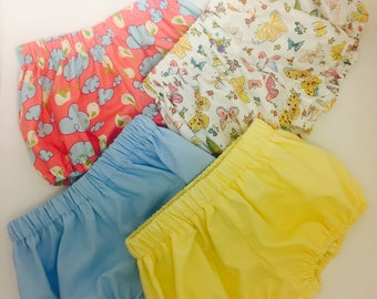 Baby short // Baby girl short // baby girl bloomers, baby summer shorts,  baby spring shorts, baby cover diapers, baby bloomers.