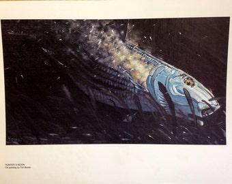 Hunter's moon giant Bonefish