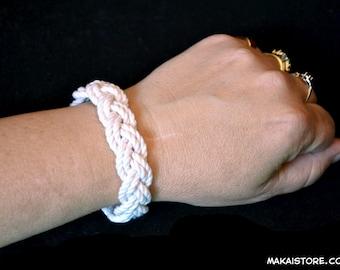 "Small ""Surfer Bracelet"" - Nautical Sailor Beach Turks Head Bracelet"