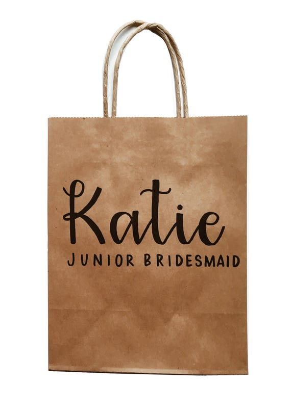 Personalized gift bags bridesmaid gifts thank you gifts negle Gallery