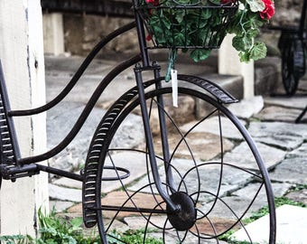 Bicycle Photography, Bike Photo, Fine Art Photography, Digital Download, Travel Photography, Bicycle Art, Home Decor, Paris Photography