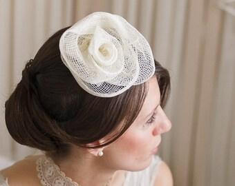 Hair Fascinator/ Hair Clip/ Bridesmaid/ Hair Accessories/Wedding Accessories/Bridal Accessories/ Bridal comb