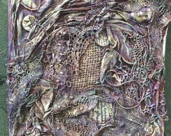 Unique Recycled Textile Art