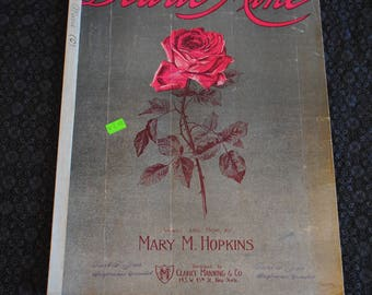 Dearie Mine- Words and Music by Mary M. Hopkins Sheet Music 1911