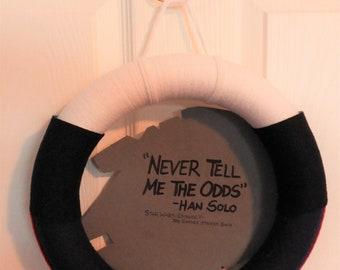 Star Wars Han Solo Quote Wreath