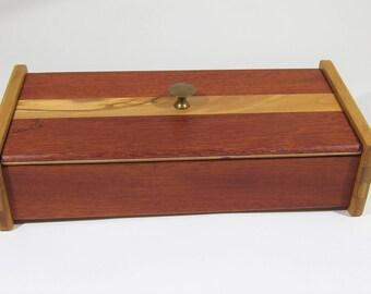 Jewelry Box Watch Box Keepsake Box Handmade