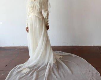 1950's Neiman Marcus Wedding Gown