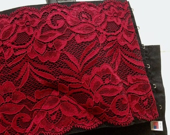 Women's Holster  - Deep Red Lace Concealed Carry Option