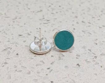 Colour Pop Stud Earrings, Polymer Clay, Colourful, Handmade