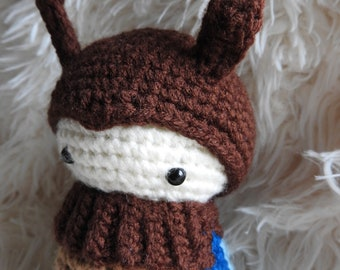 Handmade crochet Stag Beetle!