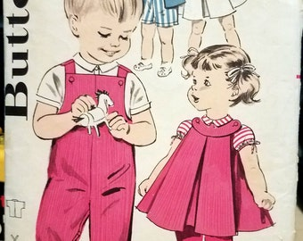 Vintage Butterick 9450 Children's size 2
