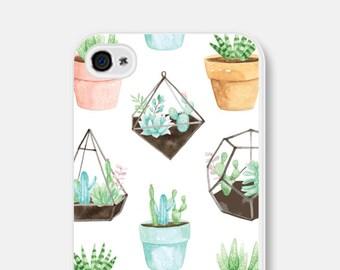 Gift Phone Case Unique Cactus iPhone 7 Case Cactus iPhone Case Succulent Samsung Galaxy S7 Case Cactus iPhone 6 Case Cactus iPhone 5s Case