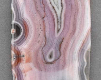 Purple Passion or Sierra Madre Agate Cabochon