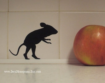 Mouse Vinyl Wall Decal