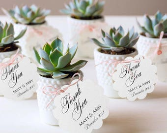 Thank You Tag - Wedding Favor Tag - Luggage Favor Tag - Wedding Favor - Custom Tags - Destination Wedding - 15 CUSTOM TAGS