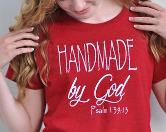 Handmade by God Women's short sleeve t-shirt