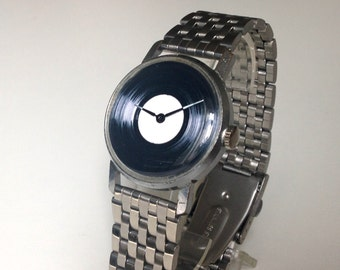 Soviet watch, Mens watch ,Mechanical watch, Vintage watch ,vinyl Watch, classic watch, minimalist watch, watch men ,minimal watch,