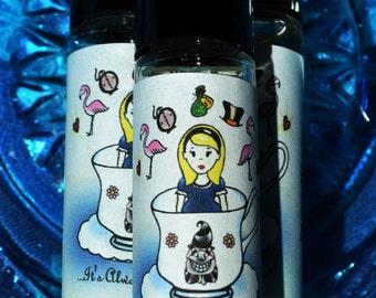"Alice in Wonderland ""It's Always Tea Time"" Fragrance Oil Roller Vegan Perfume Oil"
