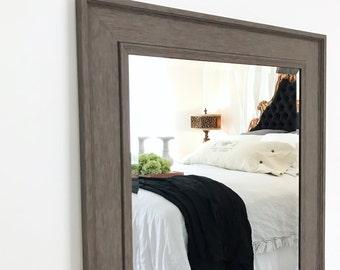 Large Wall Mirror, Rustic Bathroom Mirror