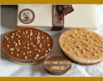 Giant Peanut Butter Cup/Peanut Butter Lover/Chocolate Gift/Female/Male/Birthday/Men/Kids/Couples Gift/Anniversary/Nuts/Nut Lover/Dad/Son