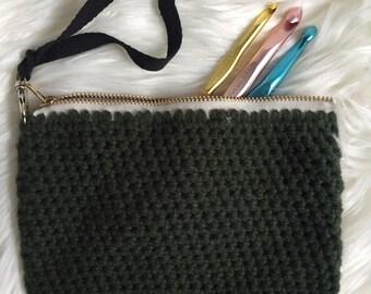Crochet Clutch   Wristlet