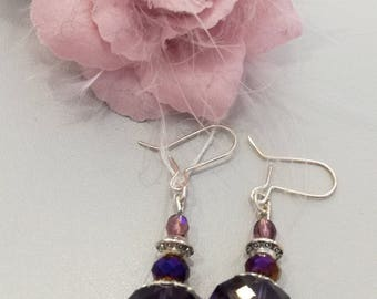 "Earrings ""Jewels of the night"""