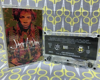The Ultimate Experience by Jimi Hendrix Vintage Cassette Tape rock