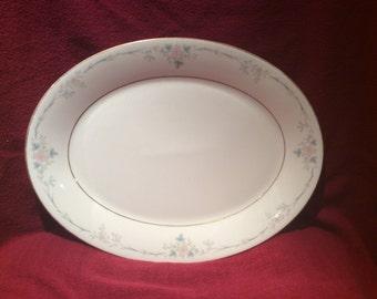 """Royal Doulton Vogue Classique TC 1159 Oval Serving Platter 13 3/8"""""""