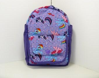 My Little Pony In Purple Preschool Backpack