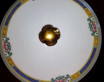 "Limoges France L. Bernardaud ""Lafayette Georgian"" Casserole Dish Lid China"