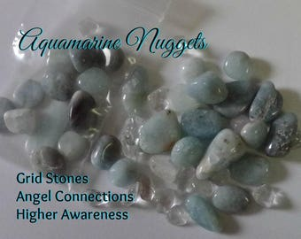 AQUAMARINE Nuggets Connect with the Divine Feminine within while helping you speak your truth with love and compassion