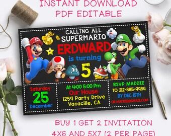 Mario invites Etsy