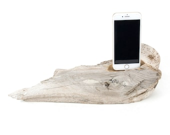Docking Station for iPhone, iPhone dock, iPhone Charger, iPhone Charging Station, iPhone driftwood dock, wood iPhone dock/ Driftwood-No.1031
