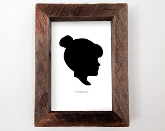 Custom Silhouette Print