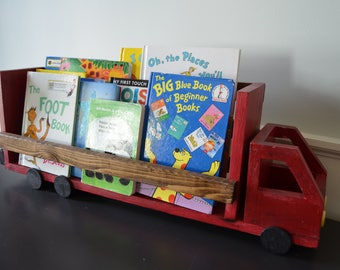 Truck Book Shelf