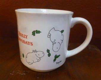 Vintage Sandra Boynton Holly Hippodays mug