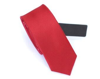 Wedding Tie.Red Tie. Neckties for Men.Silk Tie.Groomsmen Tie.