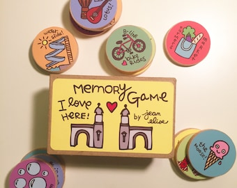 I Love Here: Bloomington Indiana Memory Game