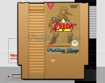 "SPECIAL ORDER! ""The Legend Of Zelda Deluxe"" Homebrew Hack Nintendo NES Awesome!"