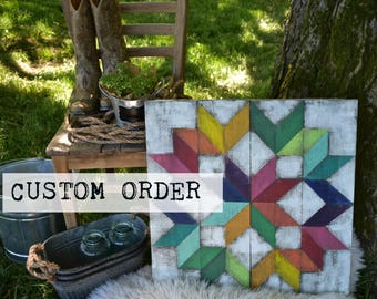 22x22 Barn Quilt Custom Order