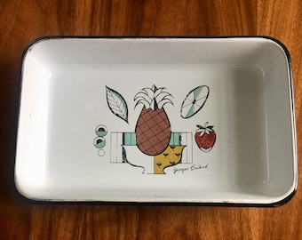 Georges Briard Enamel Casserole Dish