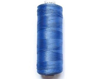 N 1133 blue MADEIRA viscose thread reel