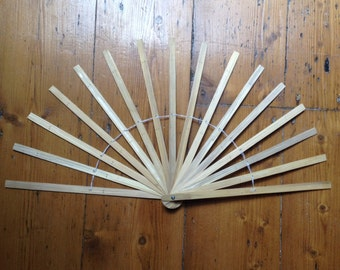 10 & 12 inch Burlesque Fan Staves
