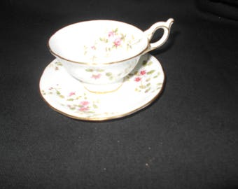 Lovely Vintage Coalport Tea Cup and Saucer
