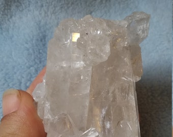 Raw Clear Quartz Cluster