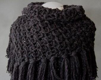 Crochet Neck Warmer PATTERN Woodland Neck Warmer Crochet Pattern CP41