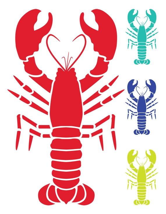 nautical clip art lobster clip art vector lobster image vector rh etsystudio com lobster clipart vector lobster clipart vector