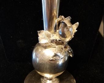 Sterling Bud Vase, Sterling Silver Bud Vase, Sterling Silver, Bud Vase, German Sterling Bud vase, Sterling Silver