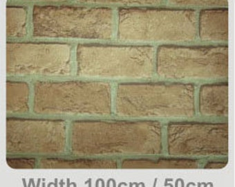 Decorative Contact Paper- Red Bricks-FR4013