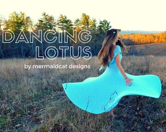 Crochet dress pattern - Lotus